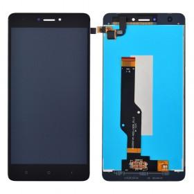 Дисплей для Xiaomi Redmi Note 4, Note 4X Snapdragon 625 с тачскрином в сборе, без рамки, копия высокого качества,  цвет черный, #bv055fhm-n00-1909_r1.0