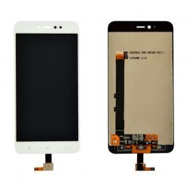Дисплей Xiaomi Redmi Note 5A Prime/Redmi Y1 с тачскрином в сборе, копия, без рамки,  цвет белый