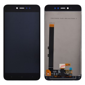 Дисплей Xiaomi Redmi Note 5A Prime/Redmi Y1 с тачскрином в сборе,  цвет black, copy, без рамки