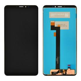 Дисплей для Xiaomi Mi Max 3 с тачскрином в сборе, без рамки,  цвет черный