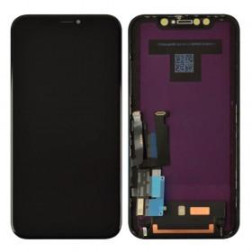 Дисплей для iPhone XR (6.1) с тачскрином в сборе, оригинал,  цвет черный