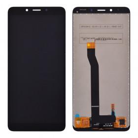 Дисплей для Xiaomi Redmi 6, Redmi 6A с тачскрином в сборе, без рамки, копия,  цвет черный