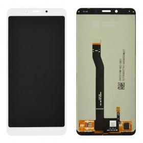 Дисплей для Xiaomi Redmi 6, Redmi 6A с тачскрином в сборе, без рамки, оригинал,  цвет белый