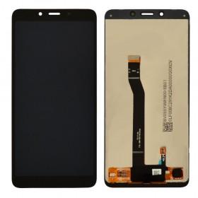 Дисплей для Xiaomi Redmi 6, Redmi 6A с тачскрином в сборе, без рамки, копия высокого качества,  цвет черный