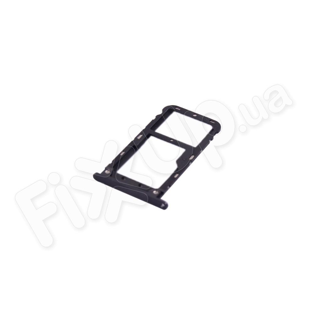 Держатель сим карты Xiaomi Mi 5X, цвет черный фото 1