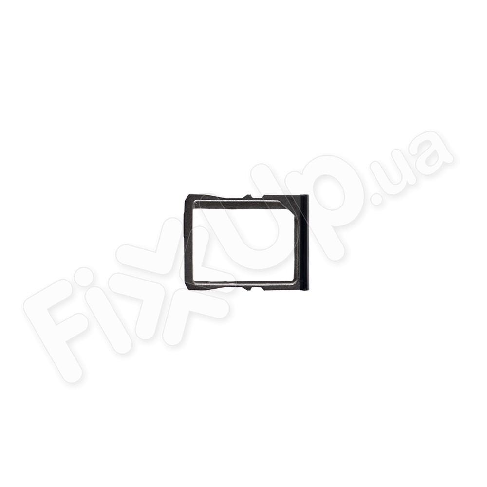Лоток для сим карты HTC One V (t320e), цвет черный фото 1