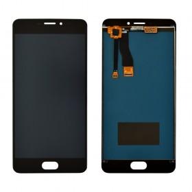Дисплей Meizu M5 Note с тачскрином в сборе, без рамки,  цвет black, high copy