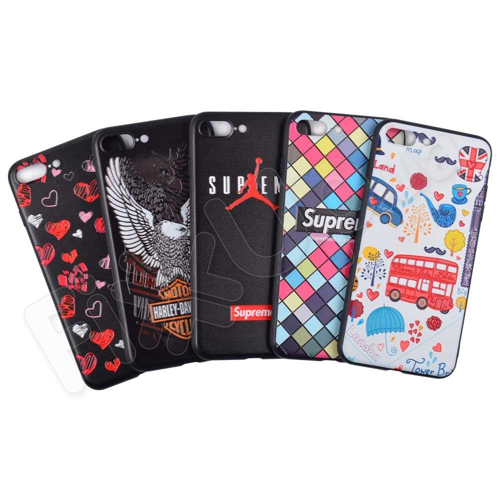 Силиконовый чехол для iPhone 7 Plus, 8 Plus фото 1