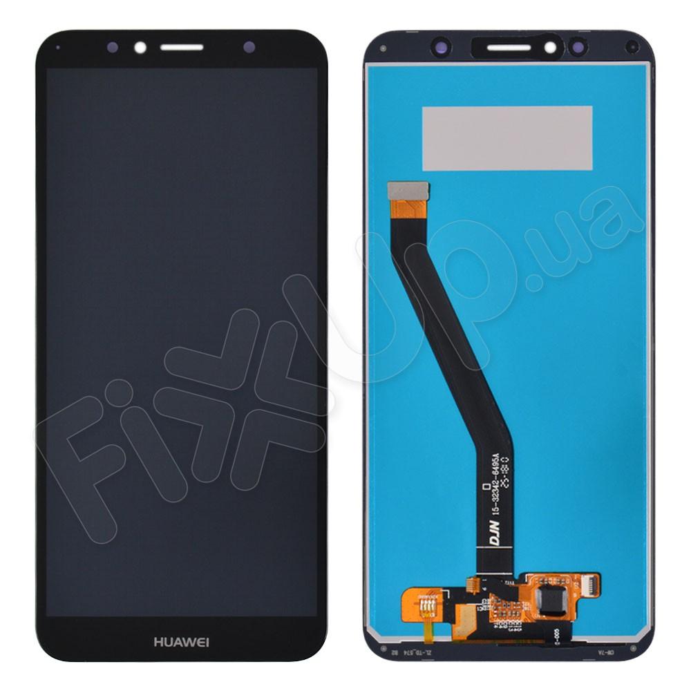 Дисплей для Huawei Y6/ Y6 Prime (2018) с тачскрином в сборе, цвет черный фото 1