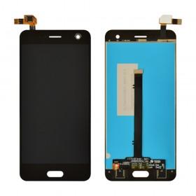 Дисплей для ZTE V8 с тачскрином в сборе,  цвет черный, без рамки