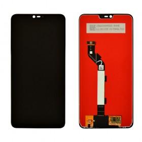 Дисплей для Xiaomi Mi 8 Lite с тачскрином в сборе, копия,  цвет черный, без рамки