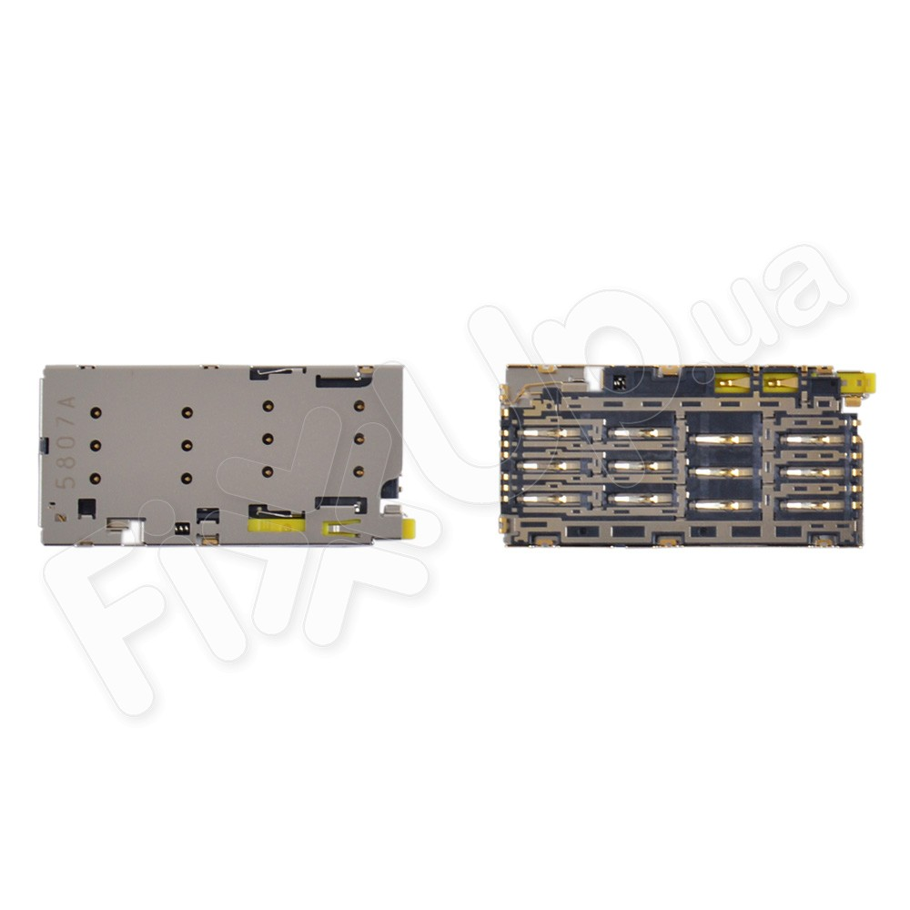 Разъем для сим карты Sony E6683, E6833, E6853, E6883 Xperia Z5 Premium Dual фото 1