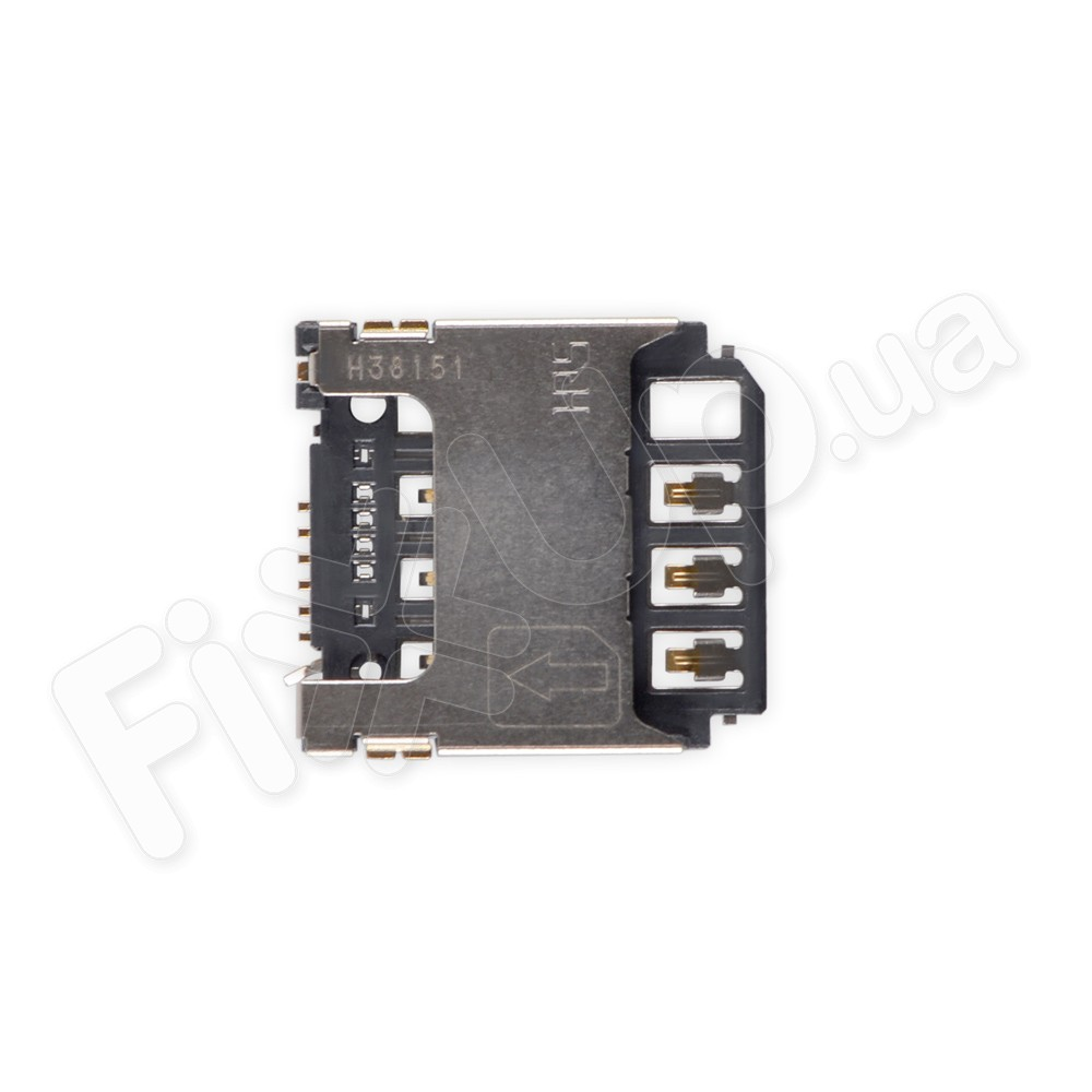 Слот для сим карты Samsung S5282, S5310, S5312, S7262 фото 1
