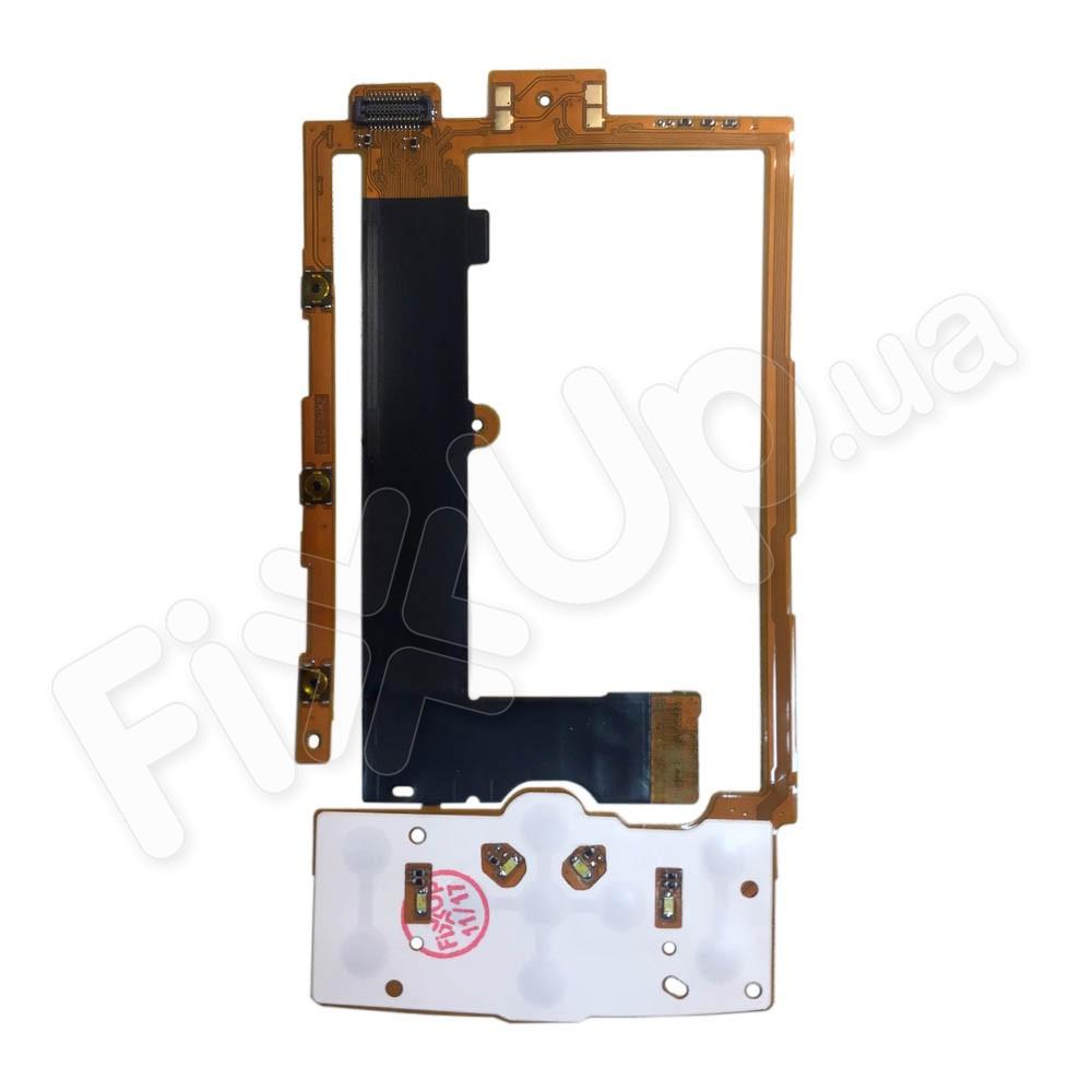 Шлейф для Nokia X3 с верхней клавиатурной мембраной фото 1