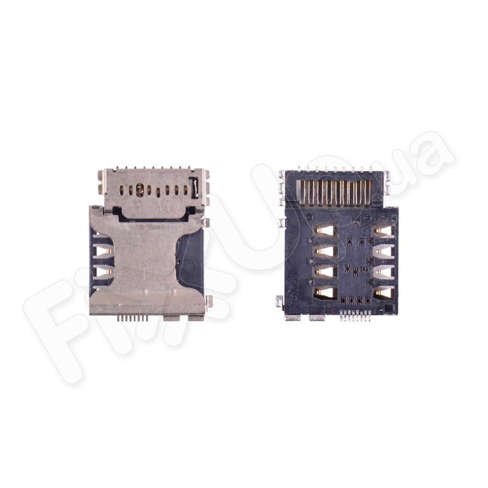 Разъем сим карты и карты памяти для Samsung i8262, G350e, i8552, i8580 фото 1
