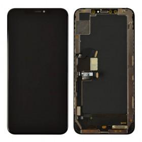 Дисплей для iPhone XS Max (6.5) с тачскрином в сборе, original change glass,  цвет black