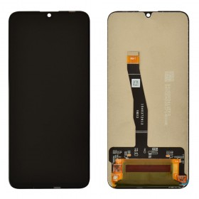 Дисплей для Huawei Honor 10 Lite, Honor 10i (HRY-LX1/HRY-LX1T) с тачскрином в сборе, без рамки,  цвет черный, копия высокого качества