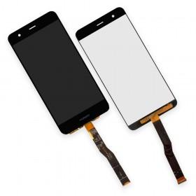 Дисплей Huawei Nova (CAN-L11) с тачскрином в сборе, копия высокого качества,  цвет черный, без рамки