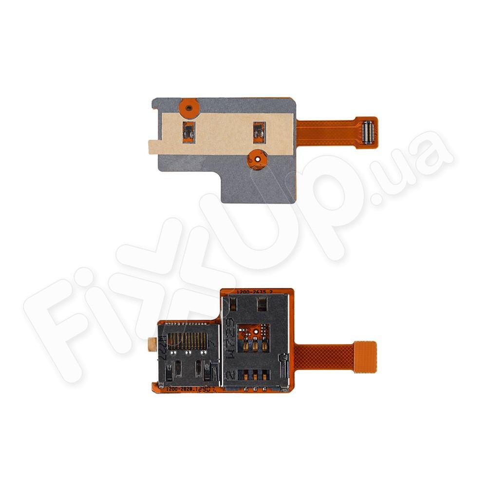 Слот для сим карты для Sony Ericsson K850 со шлейфом фото 1