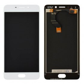 Дисплей Meizu M6 Note с тачскрином в сборе, без рамки, оригинал,  цвет белый