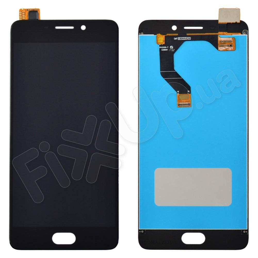 Дисплей Meizu M6 Note с тачскрином в сборе, цвет черный фото 1