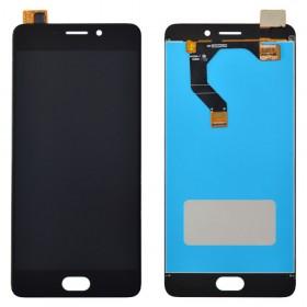 Дисплей Meizu M6 Note с тачскрином в сборе,  цвет black, copy, без рамки