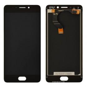 Дисплей Meizu M6 Note с тачскрином в сборе,  цвет черный, без рамки, оригинал