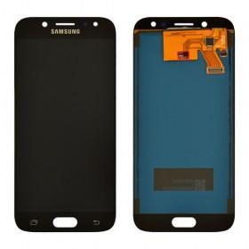 Дисплей Samsung J530F/DS Galaxy J5 (2017) с тачскрином в сборе,  цвет черный, tft с регулировкой яркости, без рамки