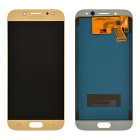 Дисплей Samsung J530F/DS Galaxy J5 (2017) с тачскрином в сборе, tft с регулировкой яркости, без рамки,  цвет золотой